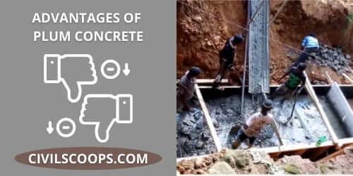 Disadvantages of Plum Concrete
