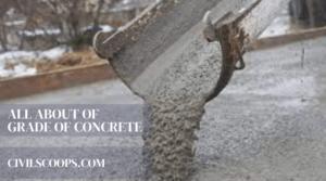 Grade of Concrete (1)