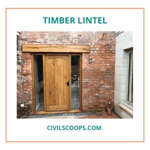 Timber Lintel