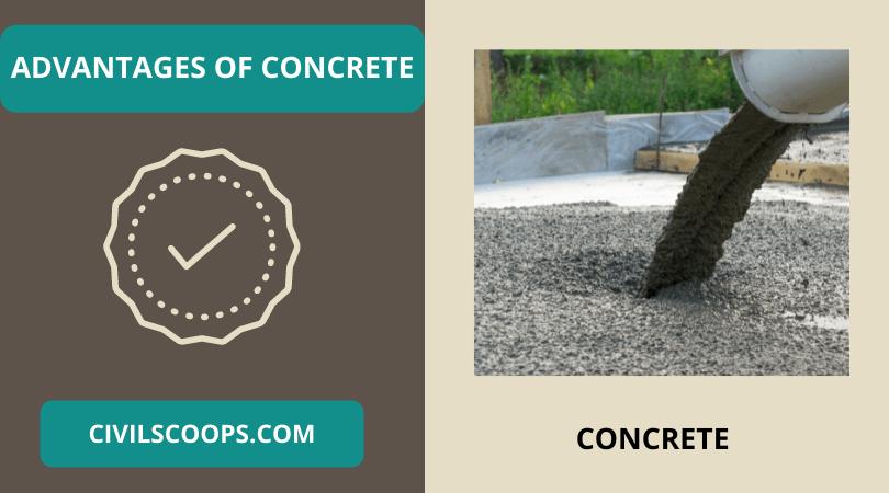 Advantages of Concrete
