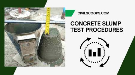 Concrete Slump Test Procedures
