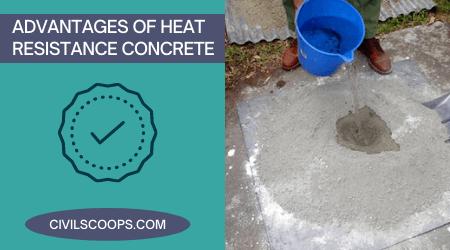 Advantages of Heat Resistance Concrete