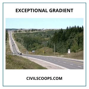 Exceptional Gradient